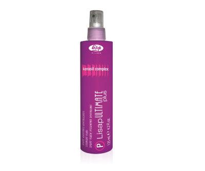 Термо-спрей для укладки волос с эффектом выпрямления «P-LISAP ULTIMATE PLUS STRAIGHT FLUID»125мл