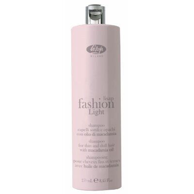 Экстра мягкий очищающий шампунь для тонких и ослабленных волос «Lisap Fashion Light Shampoo»250мл