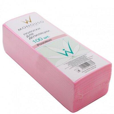Полоска для депиляции 7*20 Italwax №100шт розовая