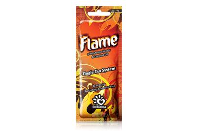 """Крем для загара в солярии """"Flame"""" с нектаром манго, бронзаторами и Tingle эффектом """"4"""" 15 мл"""