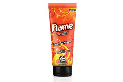 """Крем для загара в солярии """"Flame"""" с нектаром манго, бронзаторами и Tingle эффектом """"6"""" 125 мл"""