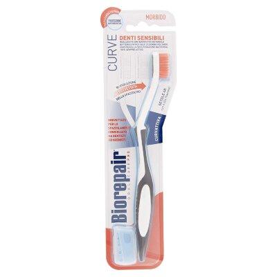 Biorepair зубная щетка изогнутая для чувствительных зубов | Biorepair CURVE Denti Sensibili
