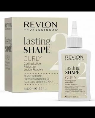 """Rvln LS лосьон """"2"""" для химичксой завивки для чувствительных волос 100млх3"""