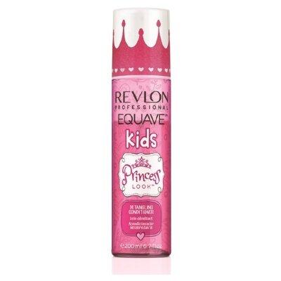 Несмываемый 2-х фазный кондиционер для девочек Revlon Professional Equave IB Kids Princess Detangling Conditioner 200 мл
