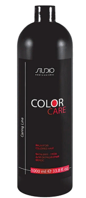 Studio Бальзам для окрашенных волос «Color Care» серии «Caring Line»1000 мл