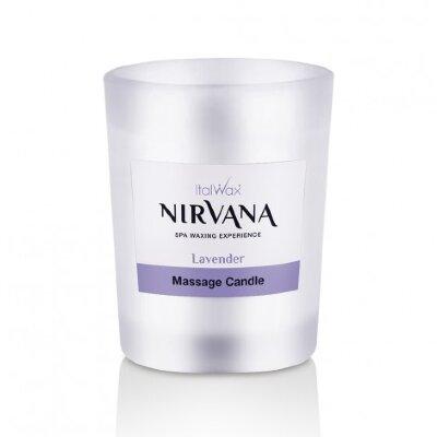Свеча ароматическая, массажная  ITALWAX Nirvana Лаванда