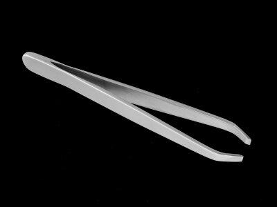 HT-11/1 Пинцет для бровей (большой прямой)