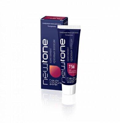 Estel Тонирующая маска для волос NEWTONE ESTEL 7/56 Русый красно-фиолетовый (60 мл)
