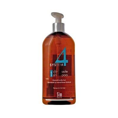 SYSTEM 4 шампунь № 1, 500 мл Для нормальной и жирной кожи головы