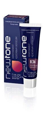 Estel Тонирующая маска для волос NEWTONE ESTEL 8/36 Светло-русый золотисто-фиолетовый (60 мл)