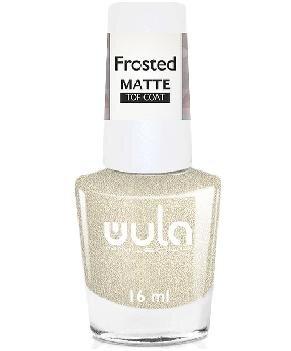 Wula nailsoul Верхнее матовое покрытие для ногтей 16мл Frosted Matte Top Coat