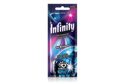 """Крем для загара в солярии """"Infinity"""" с маслом кокоса, экстрактом алоэ и бронзаторами """"6"""" 15 мл"""