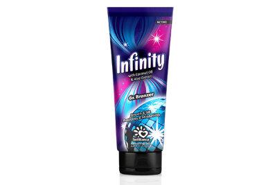 """Крем для загара в солярии """"Infinity"""" с маслом кокоса, экстрактом алоэ и бронзаторами.""""6"""" 125 мл"""