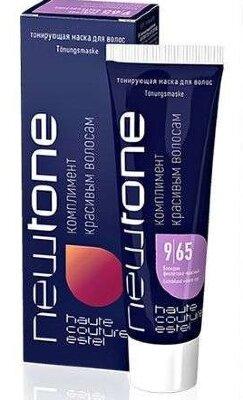 Estel Тонирующая маска для волос NEWTONE ESTEL 9/65 Блондин фиолетово-красный (60 мл)