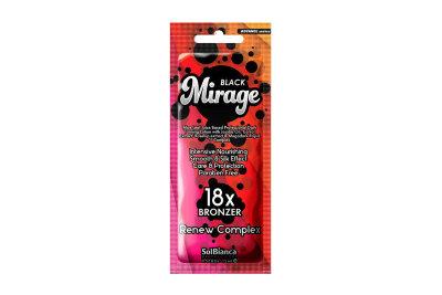 """Крем для загара в солярии """"Mirage"""" с маслом жожоба, экстрактами моркови, шиповника и бронз""""18"""" 15 мл"""
