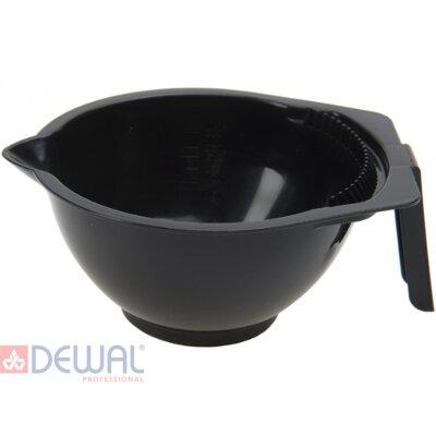 Чаша для окрашивания с ручкой, носиком и расческой 300 мл DEWAL T-1265