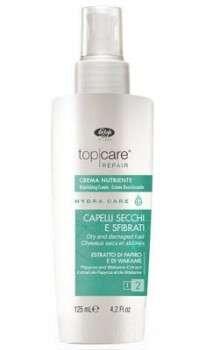 Питательный крем для волос мгновенного действия - «Top Care Repair Hydra Care Nourishing Cream»125мл