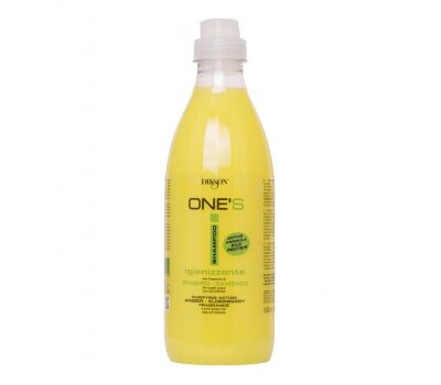 ONE'S SAMPOO IGINIZZANTE /Балансир. шампунь с октопероксом для жирных волос и против перхоти 1000 мл