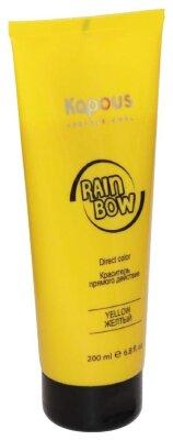 Краситель прямого действия для волос «Rainbow», Желтый