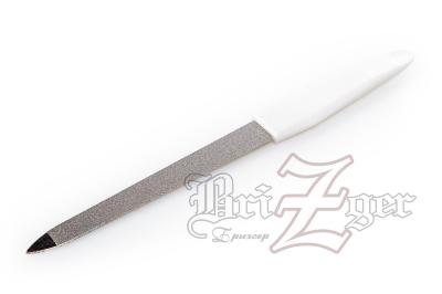 BRZ Пилка для маникюра металлическая РМ-15  (длина 15 см)
