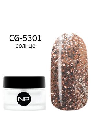 цветные гели CG-5301 солнце 5 мл