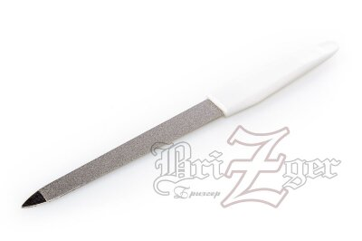 BRZ Пилка для маникюра металлическая РМ-17  (длина 17 см)