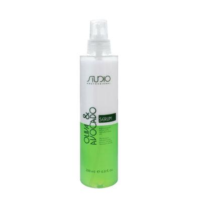 Двухфазная сыворотка для волос с маслами авокадо и оливы200 мл