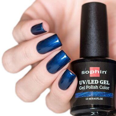 0716 GEL POLISH COLOR Цветной UV/LED гель-лак, 12мл ''sapphire''
