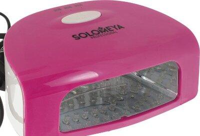 Профессиональная LED-лампа SUPER ARCH 9G (9Вт)/ розовая