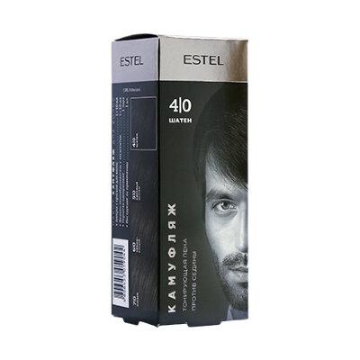 Набор для камуфляжа волос ESTEL ALPHA HOMME 4/0