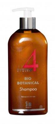 SYSTEM 4  Био Ботанический шампунь, 500 мл Для стимуляции роста волос