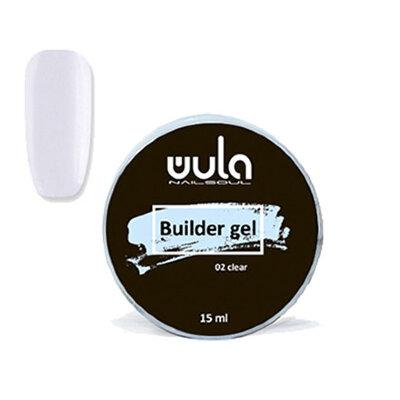 Wula nailsoul Гель для моделирования ногтей универсальный Builder gel, 15 мл тон 02