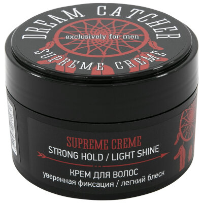 DREAM CATCHER SUPREME CREME крем для волос уверенная фиксация / легкий блеск 100 г.