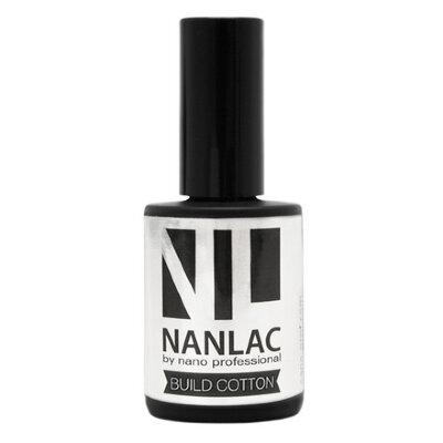гель-лак базовый NANLAC Build Cotton 15 мл