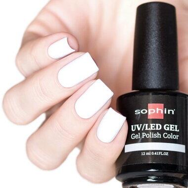 0720 GEL POLISH COLOR Цветной UV/LED гель-лак, 12мл ''ultra white''