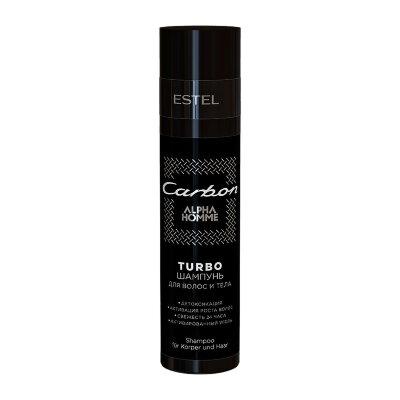 Est OTIUM HOMME Шампунь для волос и тела  Carbon 250мл