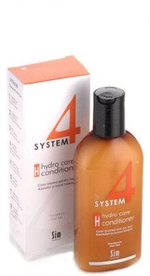 """SYSTEM 4 Терапевтический бальзам """"H"""" Для увлажнения стержня волоса  215 мл"""