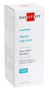 MATTE TOP COAT - верхнее покрытие с матовым эффектом, 12 мл 0502