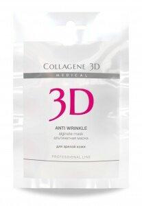 Альгинатная маска для лица и тела ANTI WRINKLE  с экстрактом спирулины30 г
