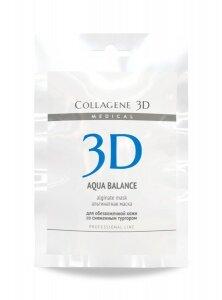 Альгинатная маска для лица и тела AQUA BALANCE с гиалуроновой кислотой30 г