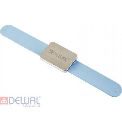 Браслет магнитный на руку для шпилек, невидимок DEWAL JPP094blue