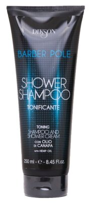 BARBER POLE Shower Shampoo tonifying	250 мл