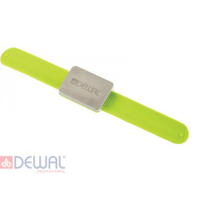 Браслет магнитный на руку для шпилек, невидимок DEWAL JPP094green