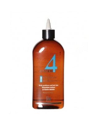 """SYSTEM 4 Терапевтический тоник """"Т"""", Стимулирует рост новых, здоровых волос 500 мл"""