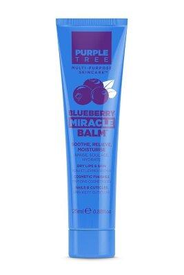 Purple Tree бальзам для губ и ухода за кожей с черникой | Purple Tree Blueberry Miracle Balm