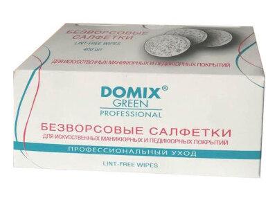 DGP Салфетки безворсовые для искуственных маникюрных и педикюрных покрытий LINT-FREE WIPES   (1уп.-400шт)