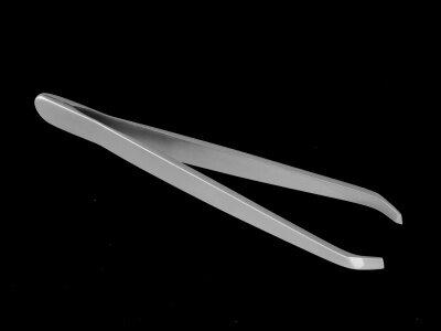 HT-10/1 Пинцет для бровей (малый прямой)