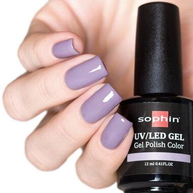 0726 GEL POLISH COLOR Цветной UV/LED гель-лак, 12мл ''violet breeze''