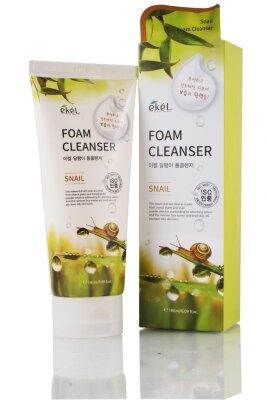 Ekel пенка для умывания восстанавливающая и заживляющая с муцином улитки | Ekel Snail Foam Cleanser