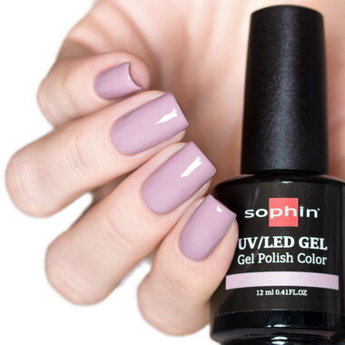 0727 GEL POLISH COLOR Цветной UV/LED гель-лак, 12мл ''lavender pink''